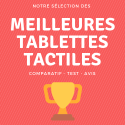 comparatif tablette tactile